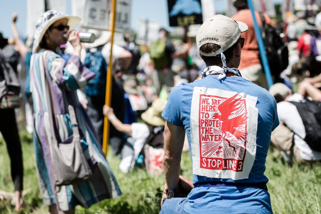 Despite Setbacks, Line 3 Protests Continue